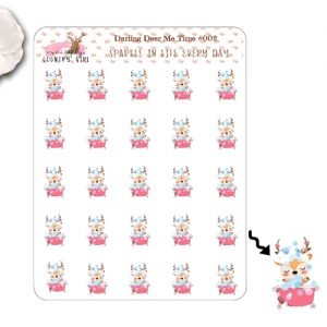 Darling Deer Me Time Sticker Sheet