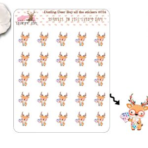 Darling Deer Buy all the Stickers Sheet