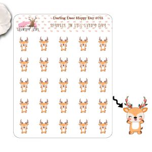 Darling Deer Happy Day Sticker Sheet