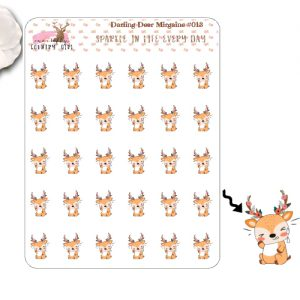 Darling Deer Migraine Sticker Sheet