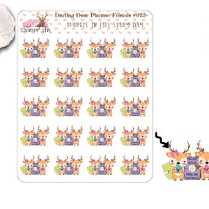 Darling Deer Planner Friends Sticker Sheets
