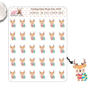 Darling Deer Water Fun Sticker Sheet