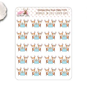 Darling Deer Date Night Stickers