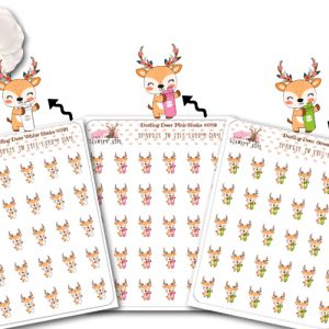 Darling Deer All Shakes Sticker sheet