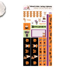 Hobonichi Halloween Sticker kit
