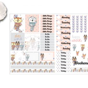2pg sticker kit Winter Friends