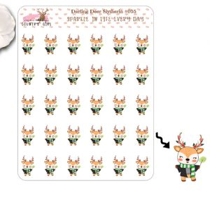 Darling Deer Slytherin Sticker Sheet