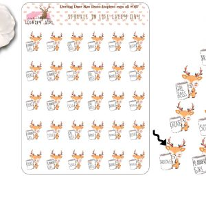 Darling Deer Variety Sticker Sheet