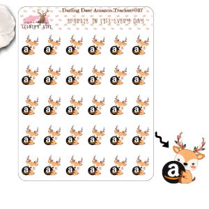 Darling Deer Amazon Sticker Sheet