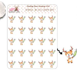 Darling Deer Dusting Sticker Sheet