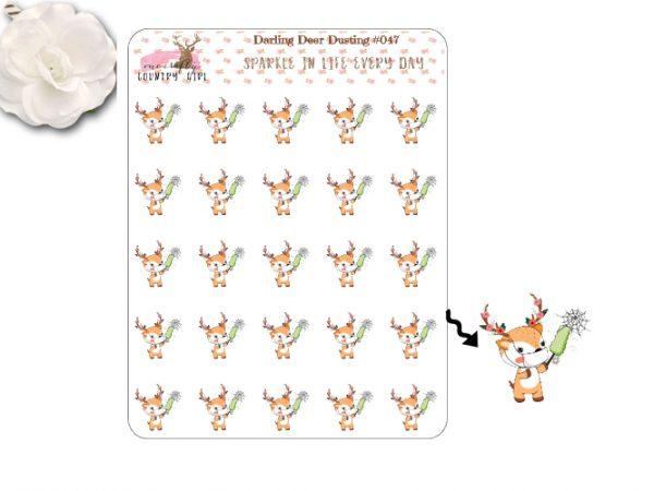 Darling Deer Dusting Sticker Sheet