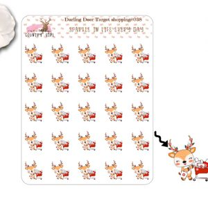 Darling Deer Target Sticker Sheet